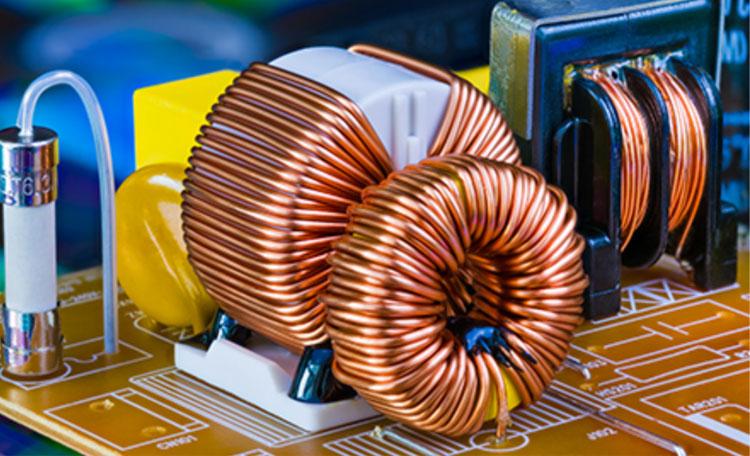 美登电子-惠威插件屏蔽电感应用案例